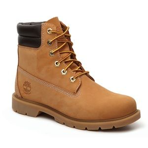 Timberland Linden Woods Lace Up Boots Tan Leather